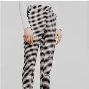 Zara Gingham Pants